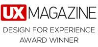 UX MAGAINE DESIGN FOR EXPRIENCE AWARD WINNER